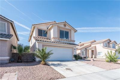 North Las Vegas NV Single Family Home For Sale: $260,000