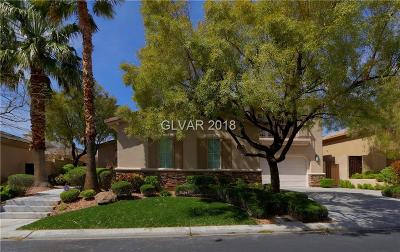 Red Rock, Red Rock Cntry Club At Summerl Single Family Home For Sale: 3329 Elk Clover Street