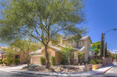 Las Vegas Single Family Home Contingent Offer: 10925 Lampione Street