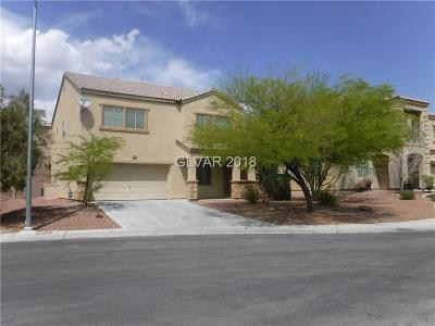 North Las Vegas Single Family Home Contingent Offer: 1412 Peyton Stewart Court
