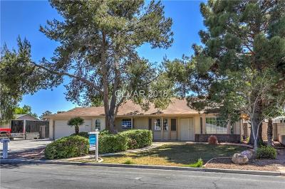 North Las Vegas Single Family Home Contingent Offer: 4343 Red Coach Avenue