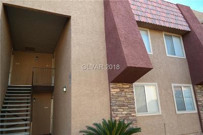 Las Vegas Condo/Townhouse For Sale: 4430 Sandy River Drive #28