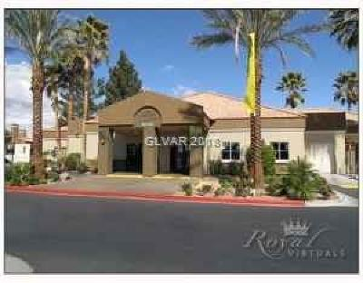 Las Vegas Condo/Townhouse For Sale: 8600 Charleston Boulevard #1086