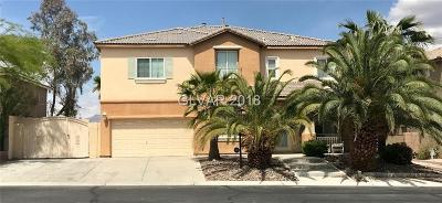 Las Vegas Single Family Home For Sale: 8154 Hawk Clan Court