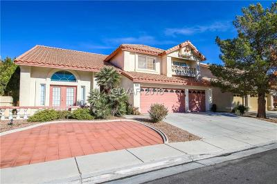 Henderson Single Family Home For Sale: 2846 Via Terra Street