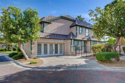 Las Vegas Condo/Townhouse For Sale: 4055 Chalfont Court