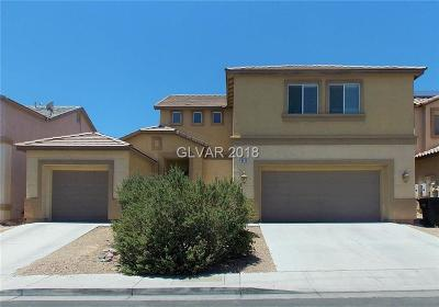 North Las Vegas Single Family Home For Sale: 6215 Lumber River Court
