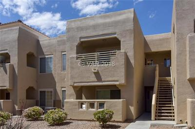 Las Vegas Condo/Townhouse For Sale: 1908 Tierra Vista Drive #206