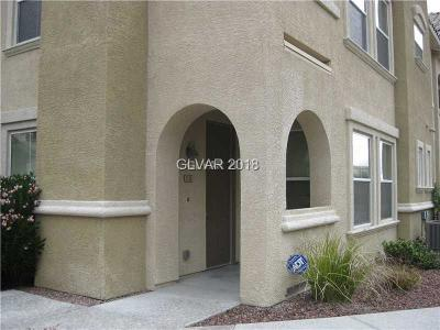 Las Vegas Condo/Townhouse For Sale: 8777 West Maule Avenue #1130