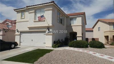 Las Vegas NV Single Family Home Contingent Offer: $289,000