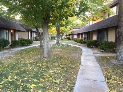 Las Vegas Condo/Townhouse For Sale: 6171 Meadow View Lane