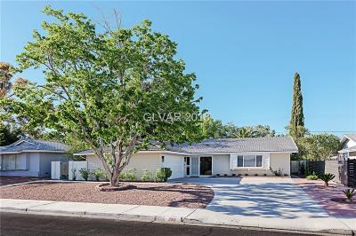 Las Vegas Single Family Home For Sale: 2912 Gilmary Avenue