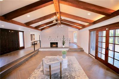 Las Vegas Single Family Home For Sale: 6965 Edna Avenue