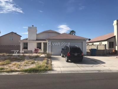 Las Vegas Single Family Home Contingent Offer: 3767 Capsule Drive