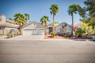 North Las Vegas Single Family Home For Sale: 1140 Crescent Moon Drive