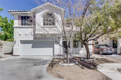 Las Vegas NV Single Family Home Under Contract - No Show: $292,000