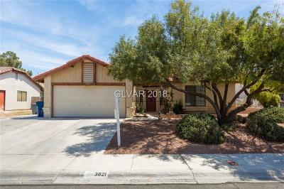 Clark County Single Family Home For Sale: 3821 Aspencrest Drive