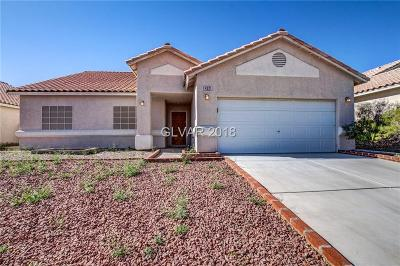 North Las Vegas Single Family Home For Sale: 4321 Beach Cliff Avenue