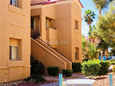 Las Vegas Condo/Townhouse For Sale: 900 Heavenly Hills Court #212