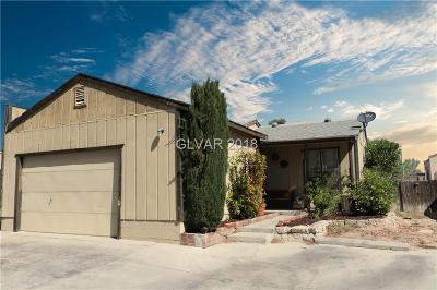 Las Vegas Condo/Townhouse For Sale: 6460 Addely Drive