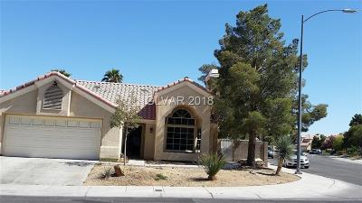 Las Vegas Single Family Home For Sale: 7817 Cape Vista Lane