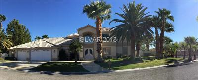 Las Vegas Single Family Home For Sale: 7860 Via Olivero Avenue