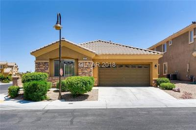 Las Vegas Single Family Home Contingent Offer: 374 Blue Tee Court