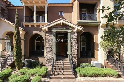 Henderson Condo/Townhouse For Sale: 3 Corte Vita