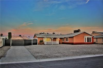 North Las Vegas Single Family Home Contingent Offer: 4650 Pony Express Street
