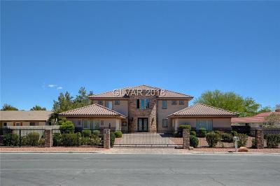 Las Vegas Single Family Home For Sale: 2970 Montessouri Street