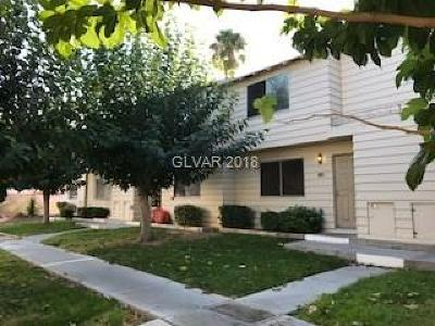 Las Vegas Single Family Home Contingent Offer: 4605 Mill Valley Drive