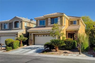 Las Vegas Single Family Home Contingent Offer: 177 Broken Putter Way
