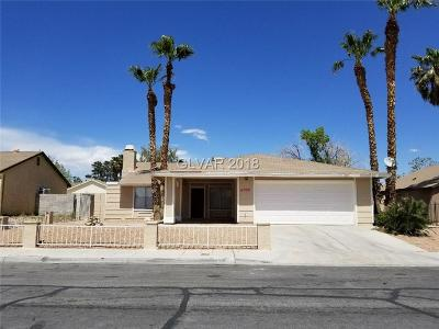 Las Vegas Single Family Home For Sale: 6008 Miracosta Avenue