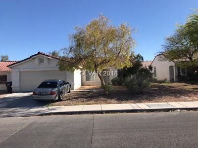 North Las Vegas Single Family Home Contingent Offer: 3015 West Hammer Lane