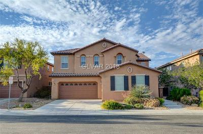 Las Vegas Single Family Home For Sale: 7064 Fort Tule Avenue