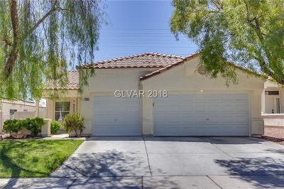 Las Vegas NV Single Family Home Under Contract - No Show: $287,000