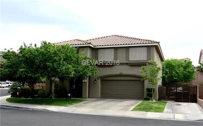 Henderson Single Family Home Contingent Offer: 1293 Sage Green Court