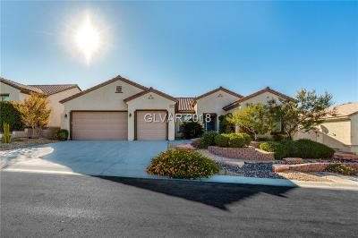 Henderson Single Family Home For Sale: 2091 Clearwater Lake Drive