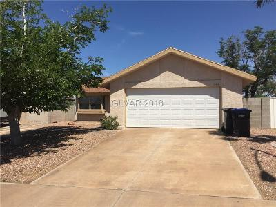 Henderson Single Family Home For Sale: 348 Toyabe Street