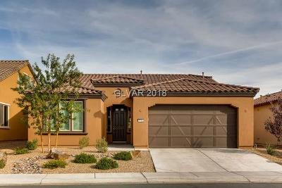 North Las Vegas Single Family Home For Sale: 5708 Sagamore Canyon Street