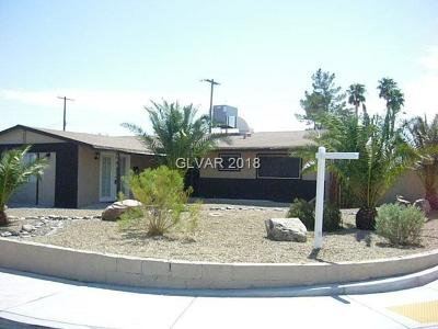 Las Vegas NV Single Family Home For Sale: $230,000