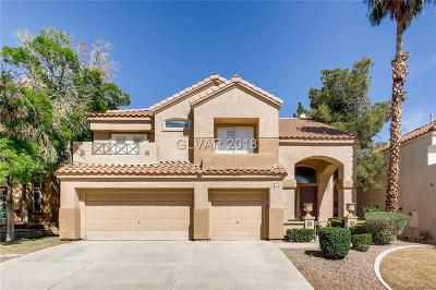 Henderson Single Family Home For Sale: 1838 Indian Bend Drive