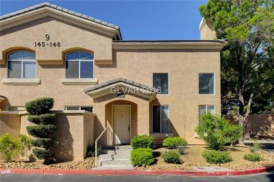 Las Vegas NV Condo/Townhouse For Sale: $199,999