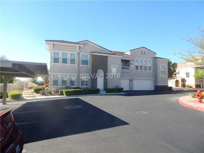 Las Vegas NV Condo/Townhouse For Sale: $156,000