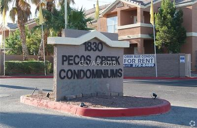 Las Vegas NV Condo/Townhouse For Sale: $75,000