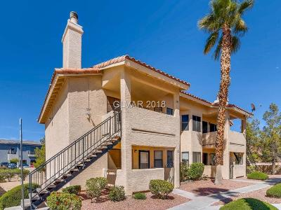 Las Vegas NV Condo/Townhouse For Sale: $137,900