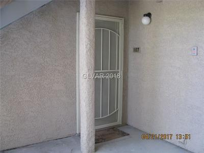 Las Vegas NV Condo/Townhouse For Sale: $90,000