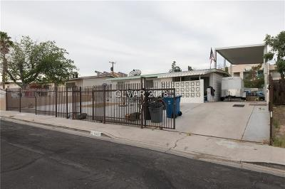 Las Vegas NV Single Family Home For Sale: $175,000