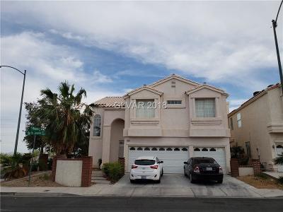 Las Vegas Single Family Home For Sale: 8041 Rio De Janeiro Drive