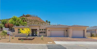 Boulder City Single Family Home Contingent Offer: 1405 Highland Drive